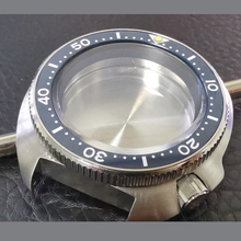 Sapphire Crystal 43mm Stainless Steel Ceramic Rotating Bezel 6015 Diving Case 200M Waterproof Suitable NH35A/NH36A Movement