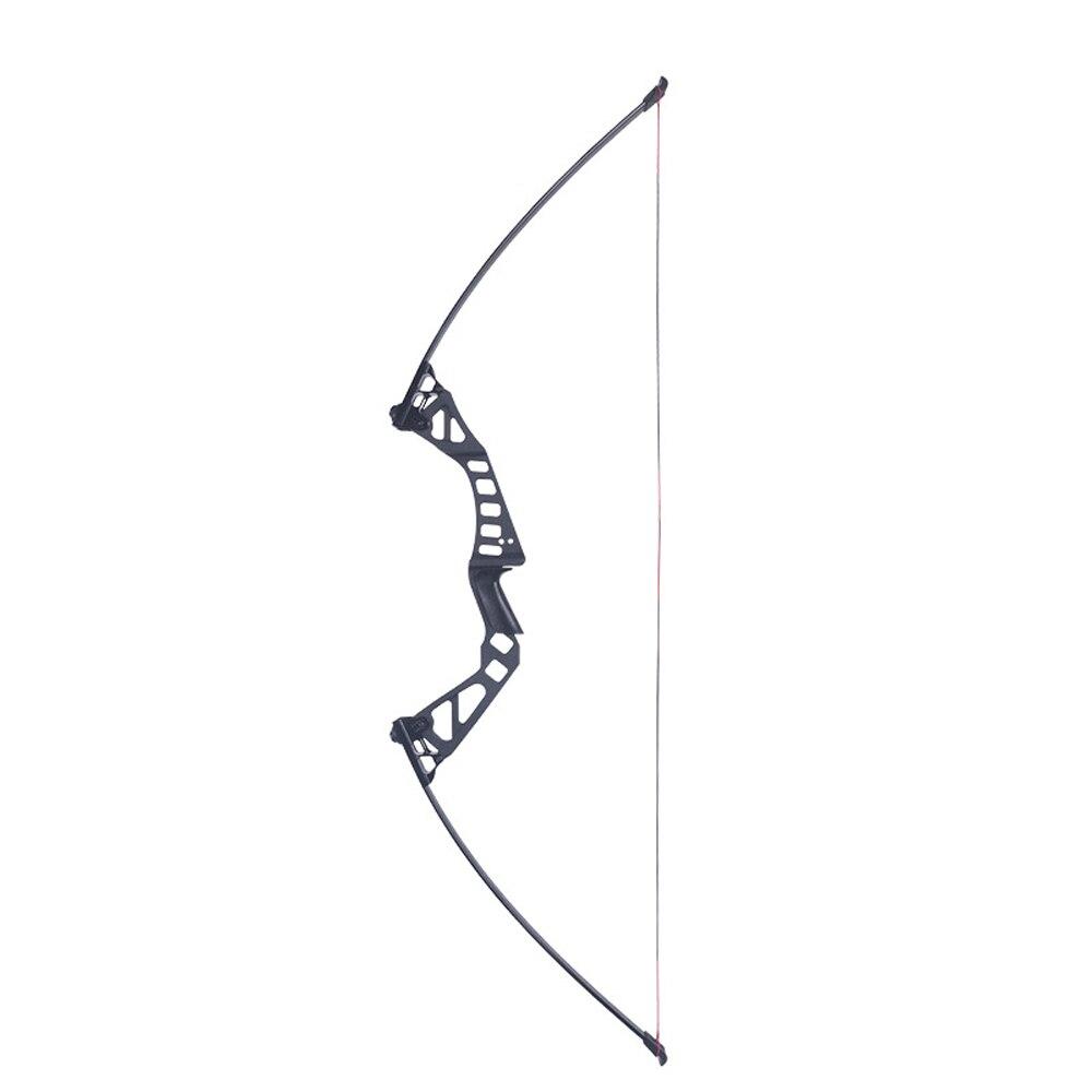 25-50IBS Регулируемый лук прямой Al-Mg сплав съемный вход лук для рекурсивного лука стрельба из лука Открытый Охота использовать стрелы из карбон...