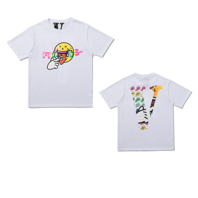 VLONE Smiley Face Friends Tees 5