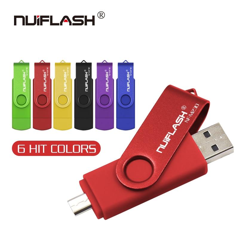 OTG micro usb 2,0 usb флэш-накопитель 128 Гб 64 ГБ 32 ГБ 16 ГБ флэш-накопитель 2 в i высокая передача флэш-карта 64 Гб usb 3,0