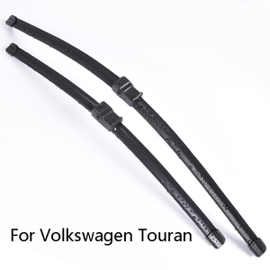 Car Windshield Wiper Blades For Volkswagen Touran from 2003 to 2019 Car Windscreen wiper Rubber