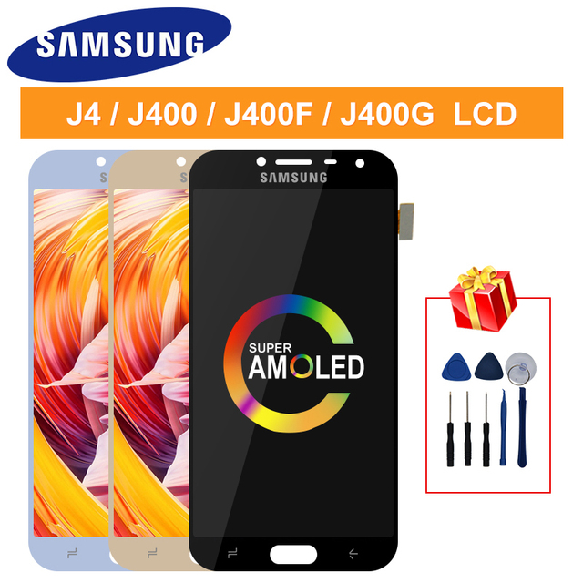$ US $15.88 LCD J4 2018 For Samsung Galaxy J400F J4 J400 J400G/DS SM-J400F LCD Display J4 2018 Touch Digitizer J4 2018 Screen Assembly Parts