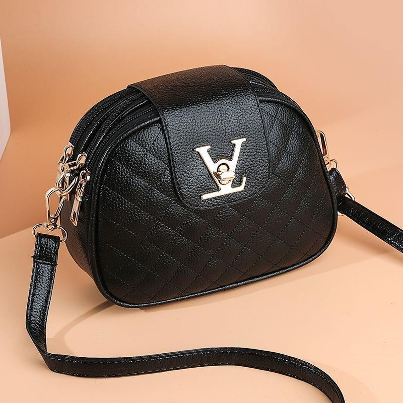 ACELURE Summer Small Shoulder Messenger Bag Female Girl Three Layers Circle Luxury Handbags Simple Style Crossbody Bags Purse