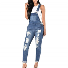 Ripped Jeans Overalls Fashion Summer Women Do Full-Length Lugentolo Bleached Grasp The-Grain