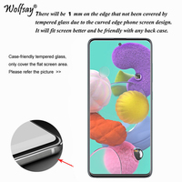 screen film For Samsung Galaxy A71 Glass For Samsung A71 51 70 50 30 20S Screen Protector Tempered Glass Phone Film For Samsung Galaxy A71 < (2)