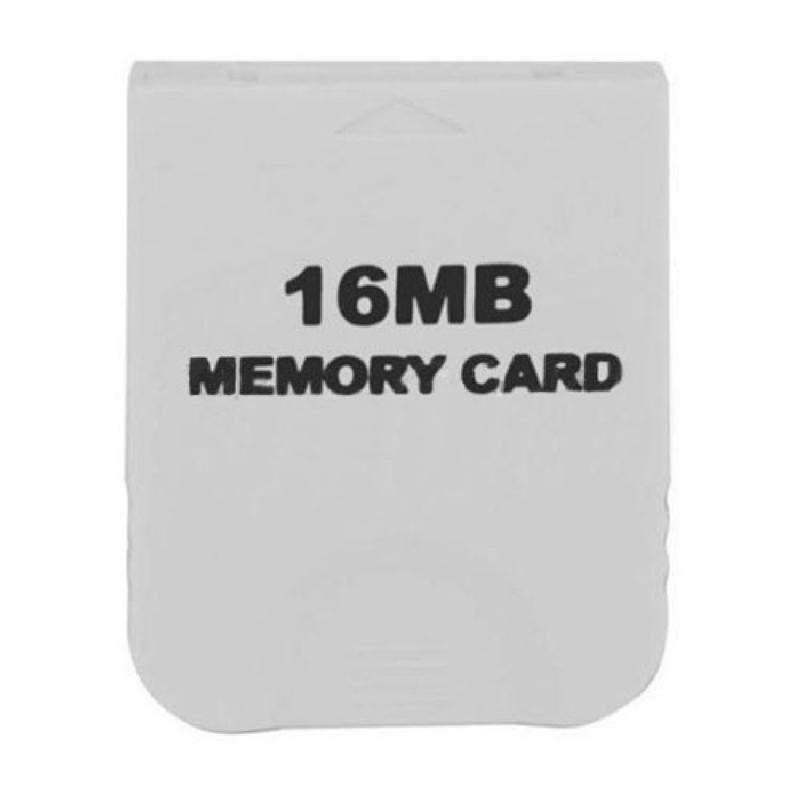 16MB White Memory Card compatible for Wii Gamecube Console