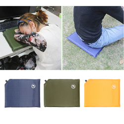 Self-Inflating Seat Cushion - Inflatable Air Seat Pad for Camping Hiking Home Office Picnic Garden Portable Ultralight