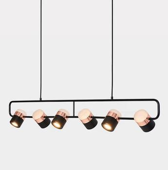 Nordic Design Chandelier For Dinning Table Modern Kitchen Island Hanging Light Fixture Luminaire Suspension LED Spot Lamp Home