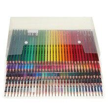 Профессиональный набор масляных цветных карандашей, Набор цветных карандашей для рисования и эскизов для студентов, 48/72/120/160 цветов, школьн...