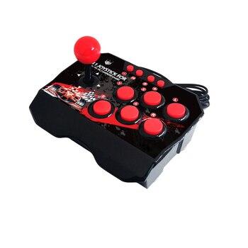 4 in 1 USB Rocker Spiel Controller Arcade Joystick Gamepad Street Fighting Stick Für PS3/PC für Schalter NS für Android Stecker
