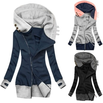 2020 Hot Sale New Design Styele Casual Clothing Sweatwear Sweet Sexy Fashion Soft Good Fabric Women Jackets 1