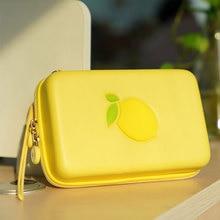 Sacoche Portable pour Nintendo Switch citron sac EVA coque rigide NS boîte de rangement pour Nintend Switch accessoires de Console de jeu