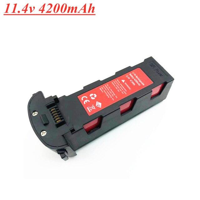 11.4V 4200Mah Lithium Batterij Voor Hubsan H117S Zino Gps Rc Onderdelen 11.4V Batterij Voor Rc Fpv racing Camera Drones