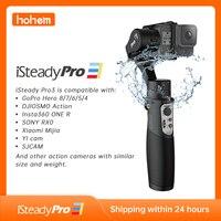Hohem iSteady Pro 3 stabilizzatore cardanico a 3 assi per GoPro 8 Action Camera giunto cardanico palmare per Gopro Hero 8/7/6/5/4 per DJI Osmo