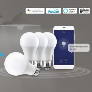 Image 4 - Yeni BroadLink akıllı ışık BestCon LB1 sönük LED ampul ışığı ile ses kontrolü Google ev ve Alexa
