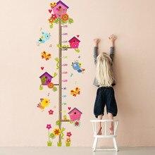 Обои с героями мультфильмов, мерная высота, съемная Наклейка на стену для детской комнаты, диаграмма роста, декор для детской комнаты, настенное Искусство# YL1