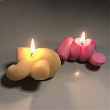 Tying Rope Shape Silicone Candle Mold DIY Aromatherapy Plaster Molds Handmade Candle Making Mould Home Decoration