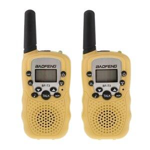 Image 5 - BaoFeng 2Pcs/set BF T3 UHF462 467MHz Kids Walkie Talkie 22 Channels for Children Gift for Kids Radio Kid Walkie Talkie+Belt Clip