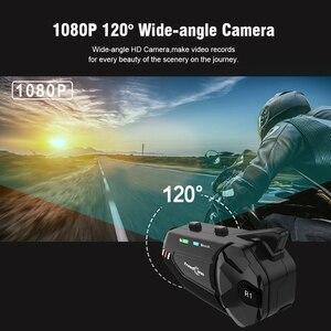 Image 3 - Freedconn R1 Plus Camera HD 1080P WiFi Bluetooth 5.0 Xe Máy Nhóm Liên Lạc Nội Bộ Chống Nước 6 Người Đi FM Bluetooth Mũ Bảo Hiểm Tai Nghe