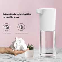 Automatic Liquid Soap Dispenser Hand Washing Container Automatic M5 500ml Smart Foaming Wall Mounting ABS Hand Cleaning
