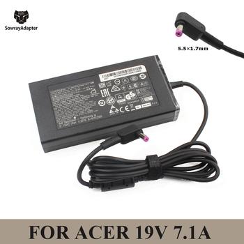 19V 7 1A 5 5*1 7mm 135W AC ładowarka do laptopa Adapter do Acer Nitro 5 AN515-44-R5FT Acer Aspire V17 Nitro VN7-792G-59CL PA-1131-16 tanie i dobre opinie SowrayAdapter Rohs CN (pochodzenie) 19 v Dla acer AC 100-240v 50-60hz 5 5x1 7mm