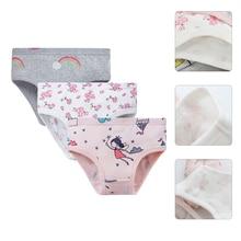 Underwear Shorts Girls Cotton Cartoon Hot-Sale 3pcs/Lot Soft Design Children