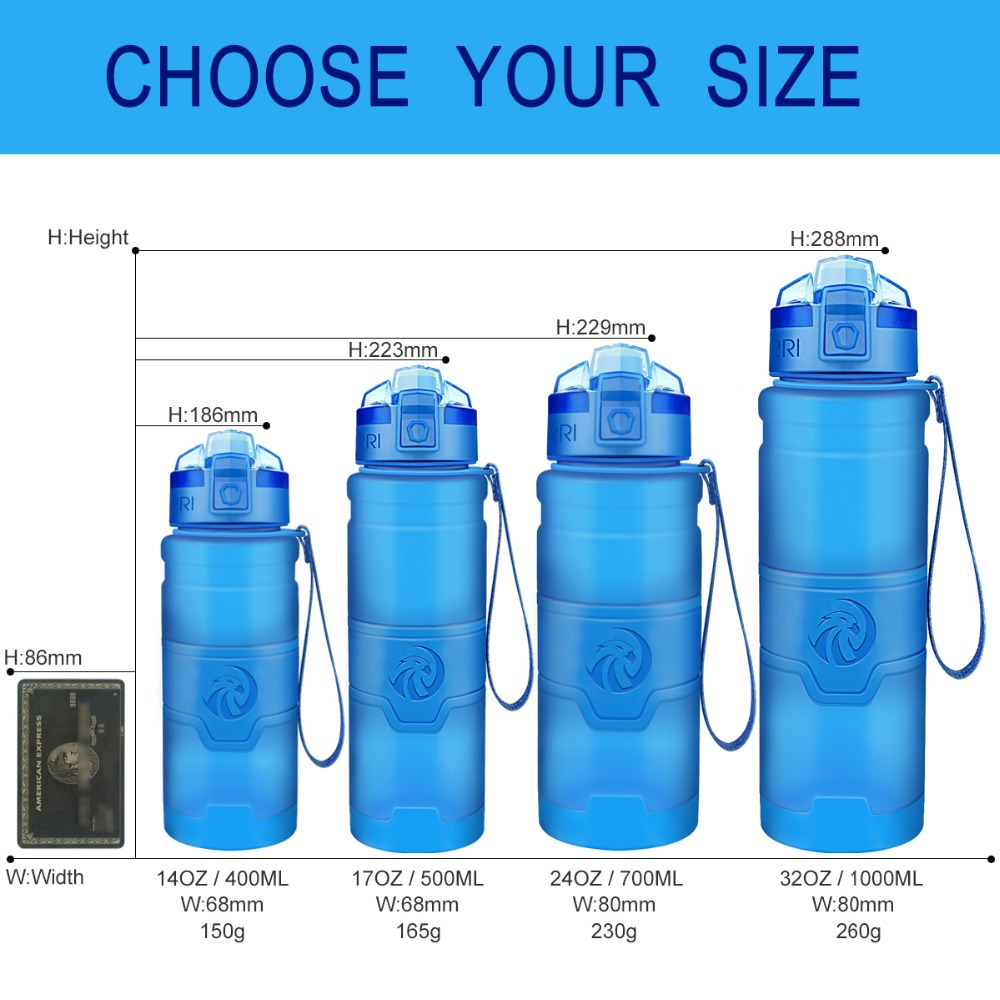 H2826e1ee0ee24a45970e673613fdf3bdj Best Sport Water Bottle TRITAN Copolyester Plastic Material Bottle Fitness School Yoga For Kids/Adults Water Bottles With Filter