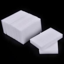 50 pçs esponja de melamina esponja mágica borracha prato limpeza para cozinha escritório banheiro acessório limpo 100*60*20mm