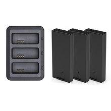 Original dji tello bateria 1100 mah 3.8 v + 3 em 1 inteligente carregador hub para dji tello zangão vôo acessórios da bateria