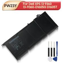 Оригинальная запасная батарея для ноутбука pw23y 0rnp72 0tp1gt