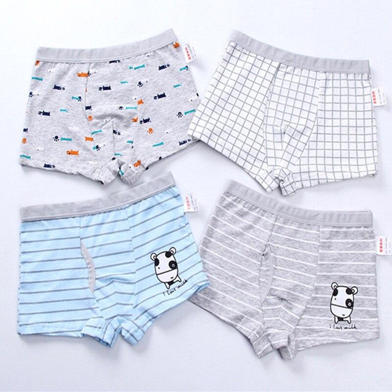 2pc/lot  Boys Panties  Cotton Boxer Shorts  Young Pantie   Briefs Kids  Baby Girl Clothes  Panties for Kids 1