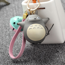 Extremely Cute My Neighbor Totoro Chinchillidae Keychain Pendant Fit For Bag Charms Purse Accessory Miyazaki Hayao Comic Fans