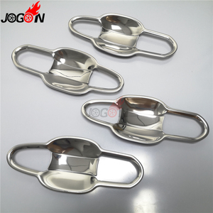 Image 5 - For Toyota RAV4 XA50 2019 2020 Silver or Black Titanium Car Door Handle and Door Bowl Cover Trim Molding Accessories