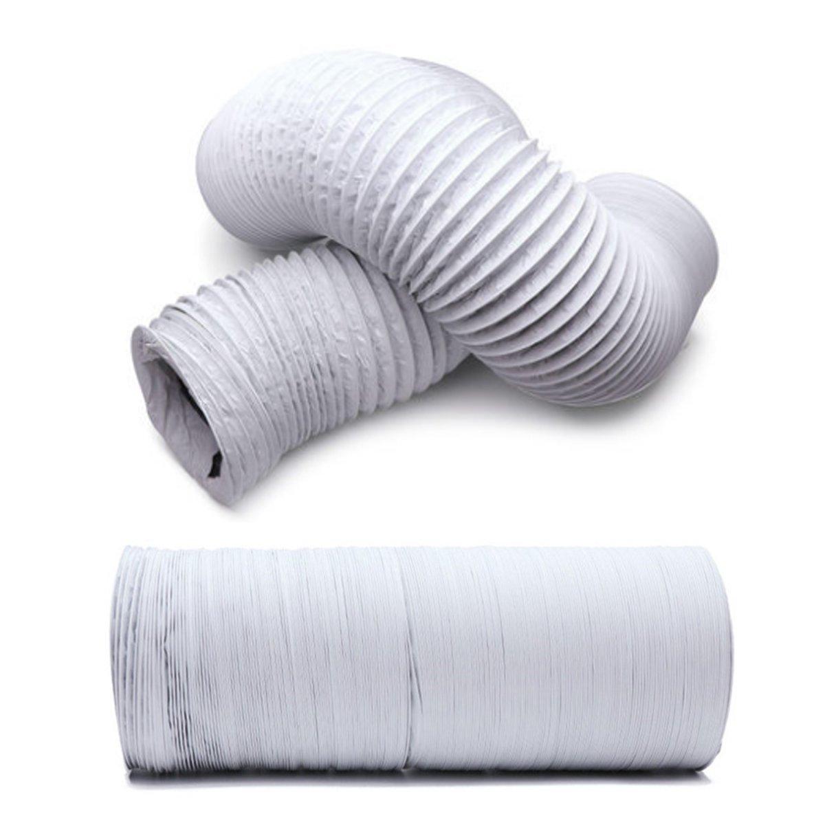 6.5M Aluminum Foil Duct Hose Pipes Fittings Kitchen Exhaust Inline Fan Vent Hoses Ventilation Air Vent Tube 160-250mm Diameter