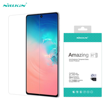 Samsung Galaxy S10 Lite temperli cam Nillkin H + PRO 9H 0.2mm anti patlama ekran koruyucu film Samsung Note 10 Lite