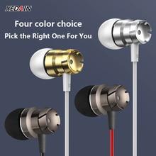 กีฬาIn Earหูฟังพร้อมไมโครโฟน3.5มม.หูฟังสเตอริโอแฮนด์ฟรีหูฟังหูฟังสำหรับMp3 iPhone Xiaomiโทรศัพท์มือถือ