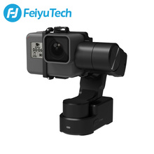 FeiyuTech Feiyu WG2X Splash-proof 3-axis Wearable Gimbal Stabilizer for GoPro Hero 7 6 5 4 Session Sony RX0 YI 4K Action Camera hohem isteady pro 3 axis handheld gimbal stabilizer for sony rx0 gopro hero 7 6 5 4 3 sjcam yi cam action camera pk feiyutech g6
