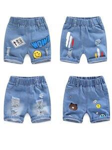Short-Pants Trousers Jeans Clothing Baby-Boy Boys Kids Children Casual Denim Summer Cotton