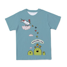 Fantasy Fairy 3D T-Shirt Pink Cartoon Animal Lady Clothes Pony Pattern Women Tops Parent-Child Outfit Tshirt Summer Short Sleeve