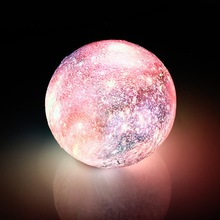цены New 3d-printed moon moon light usb star light LED night light new peculiar night light