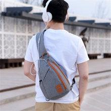 2019 Fashion Backpack for Men One Shoulder Chest Bag Male Messenger Boys