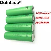 2020 vtc6 3000 mah 3.7 v li-ion bateria 18650 para sony us18650vtc6 30a brinquedos lanterna ferramentas
