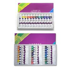 цена на 12ml 12/24 Color Professional Acrylic Paints Set Hand Painted Wall Paint Drawing