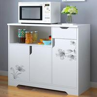 Kitchen side cabinet modern simple tea cabinet kitchen cabinet storage cabinet cabinet living room storage cabinet multi functio