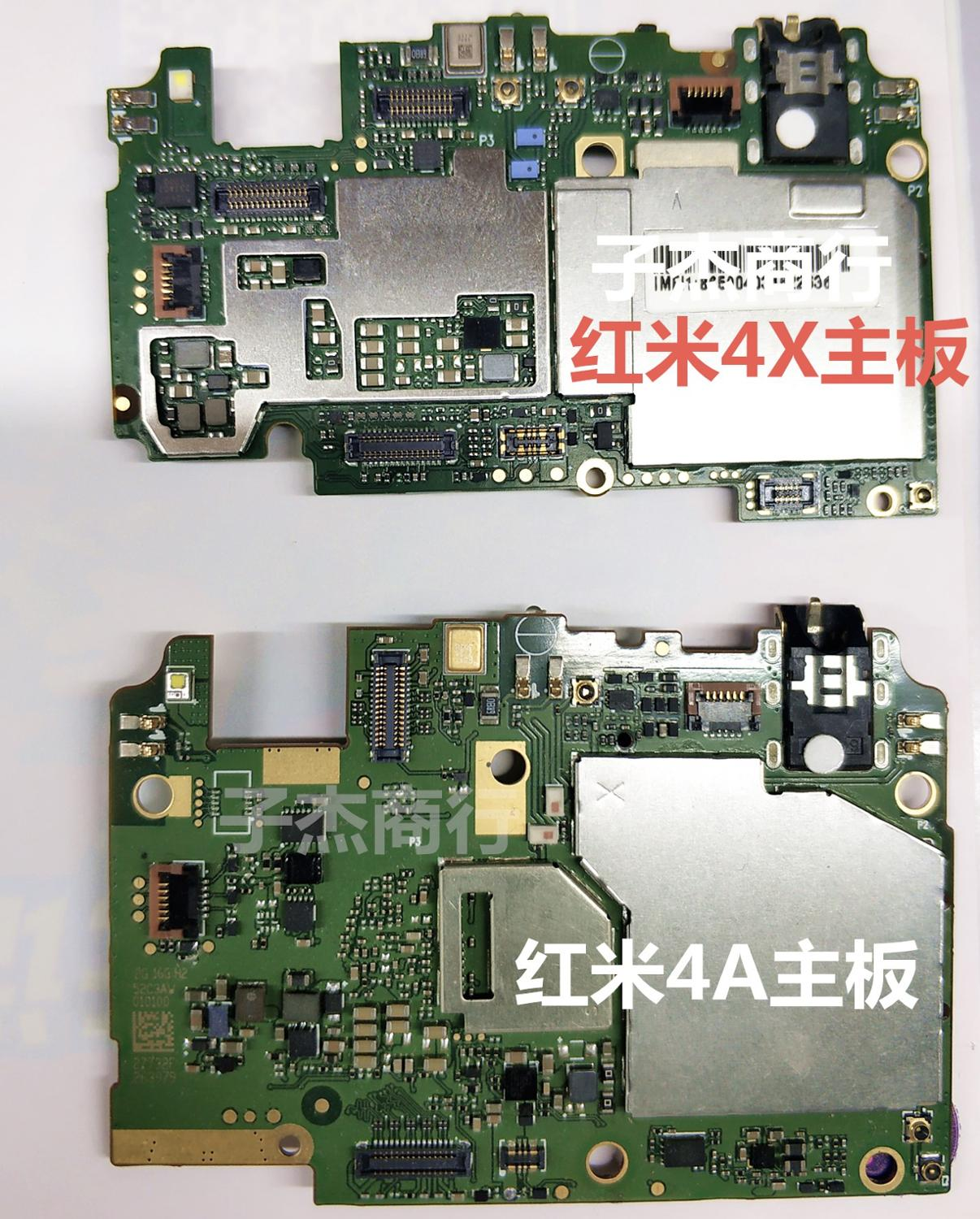 Mobile Electronic panel mainboard <font><b>Motherboard</b></font> unlocked with chips Circuits flex Cable For <font><b>RedMi</b></font> hongmi <font><b>4X</b></font> 16G image