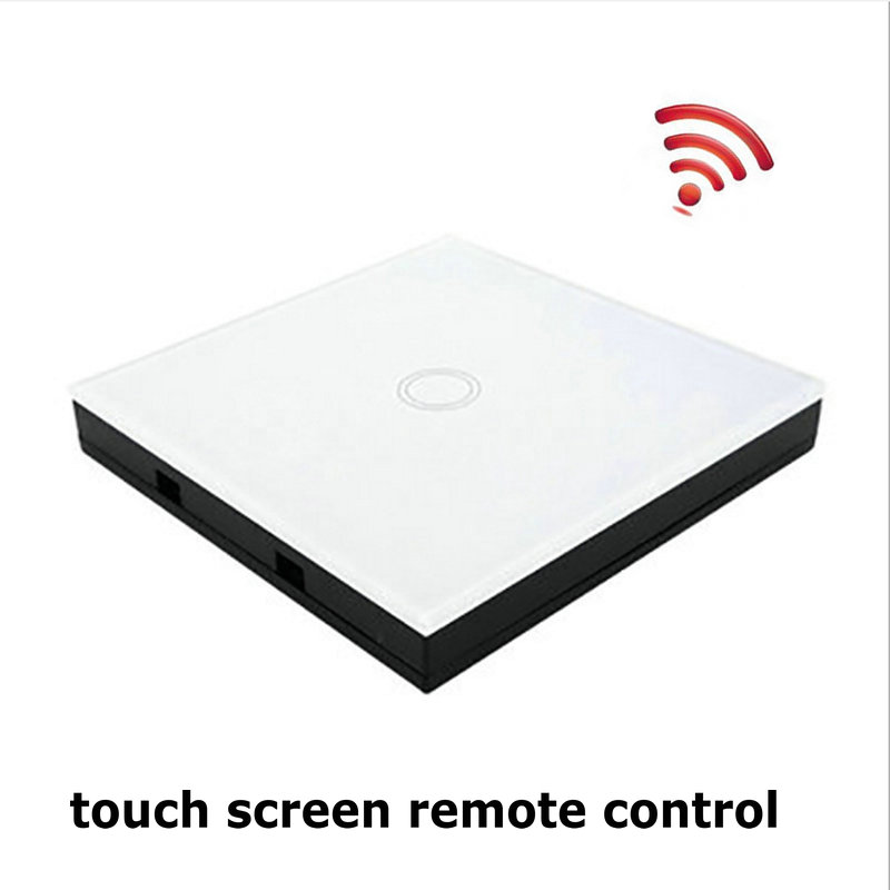 Wireless Remote Control Glass Panel Transmitter 86 Type <font><b>RF433</b></font> Controller for RF Wall Switch Universal <font><b>Module</b></font> Receiver image