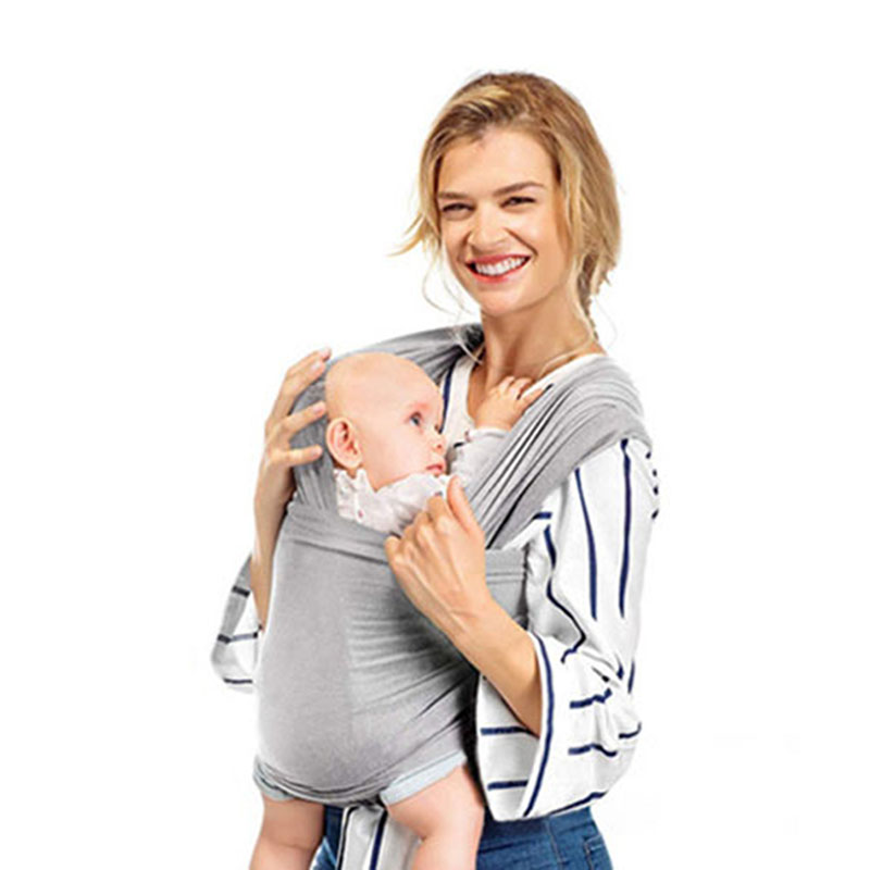 Ergonomic Baby Carrier For Newborns Breathable Cotton Sling Scarf Infant Kangaroo Baby Wrap Breastfeeding Nursing Cover Hipseat