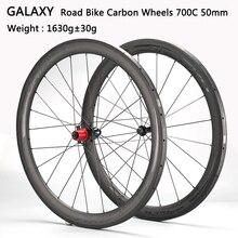 JAVA DECA Ultralight karbon yol bisiklet tekerlek 700c kattığı tekerlek Tubuler 42mm F/20 ve R/24 A141SB + f162SB Hub