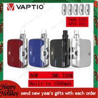 1 【envoyer des cadeaux du nouvel an 】 cigarette électronique Vape kit 50W Fusion 1500mAh vaporisateur mod 2ML batterie vapeur