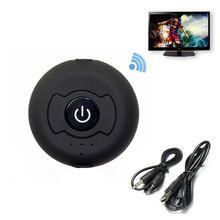 цена на H-366T Multipoint Wireless Bluetooth Transmitter Bluetooth 4.0  Audio Adapter 3.5mm Jack Aptx Stereo Music AUX For PC TV Speaker